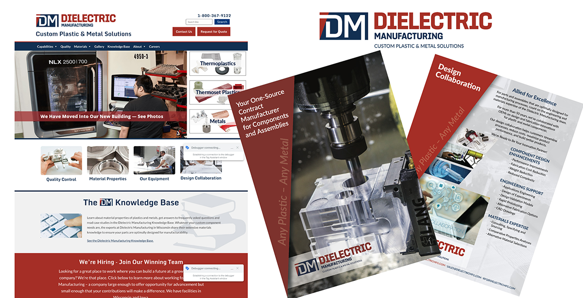 Dielectric Manufacturing<br>– Plastic and Metal Contract Manufacturer