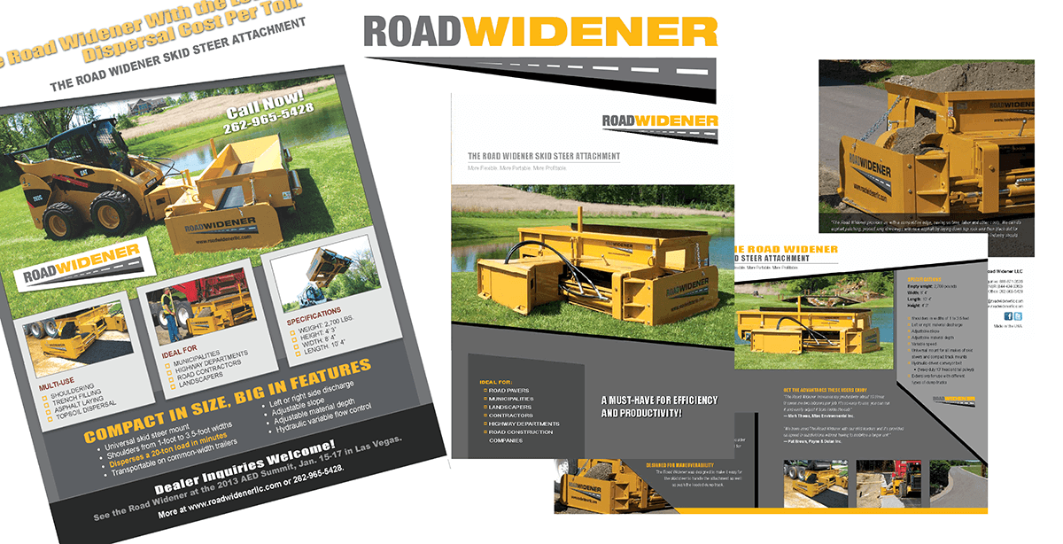 Roadwidener LLC<br>– Skid Steer Roadwidener