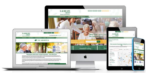 Laureate Group website views